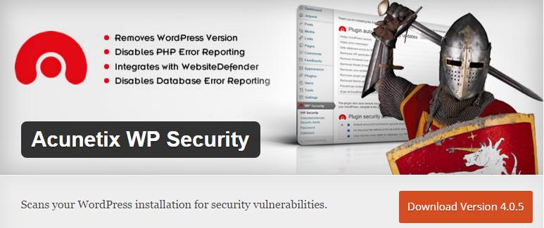 Acunetix-WP-Security-screenshot