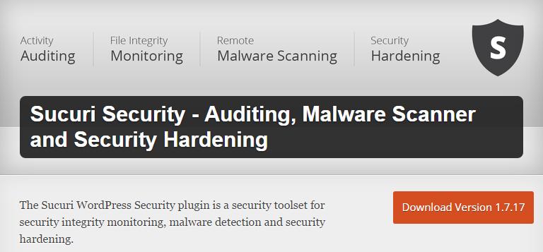 Sucuri-Security-screenshot