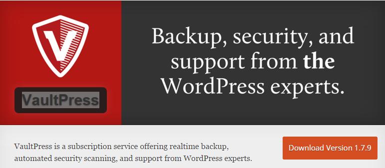 VaultPress-screenshot