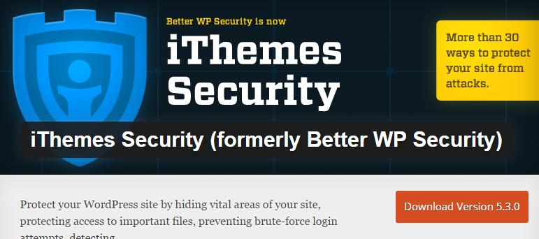 iThemes-Security-screenshot